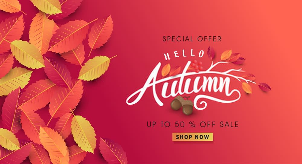 Seasonal Marketing autumn