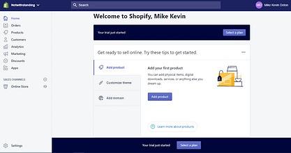 Step-by-Step Guide On How To Sell On Shopify