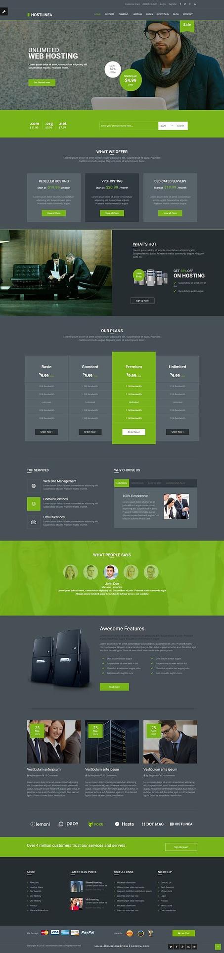 Small Business Website Design Hosting
